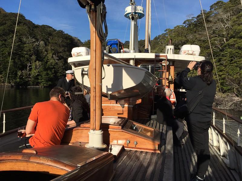 Te Anau Fiordland top things to do - Faith in Fiordland leasure cruise Lake Te Anau