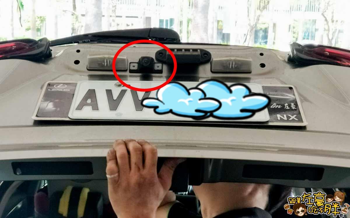 NX200安裝環景盲點解鏡像(台南博勝汽車音響)-23