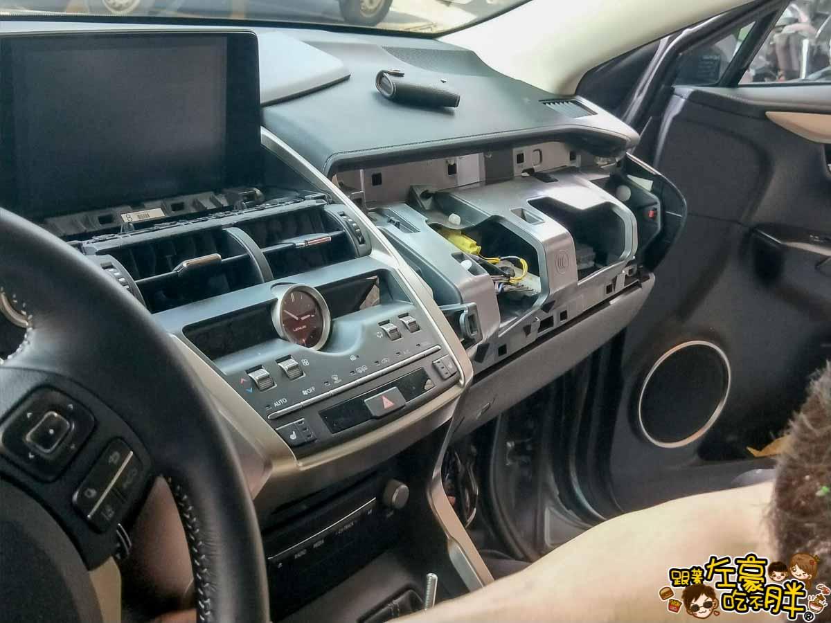NX200安裝環景盲點解鏡像(台南博勝汽車音響)-17