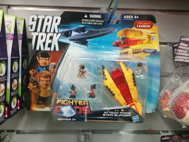 Star Trek Beyond fighter pods @ $C 4 (2) #toronto #dollarama #parliamentstreet #cabbagetown #startrek #startrekbeyond #toys