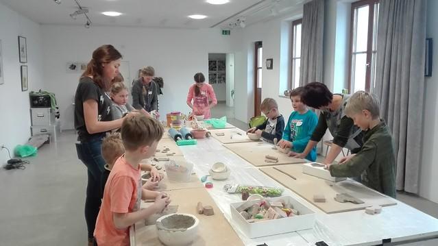 Keramikworkshops für Kinder