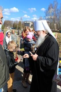 21.04.2019 | Божественная литургия в дер. Новоселицы