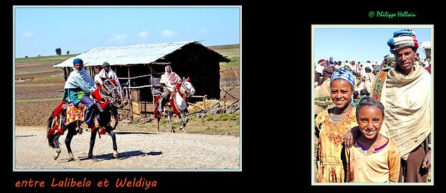 entre Lalibela et Weldiya ©à l'entrée du marché