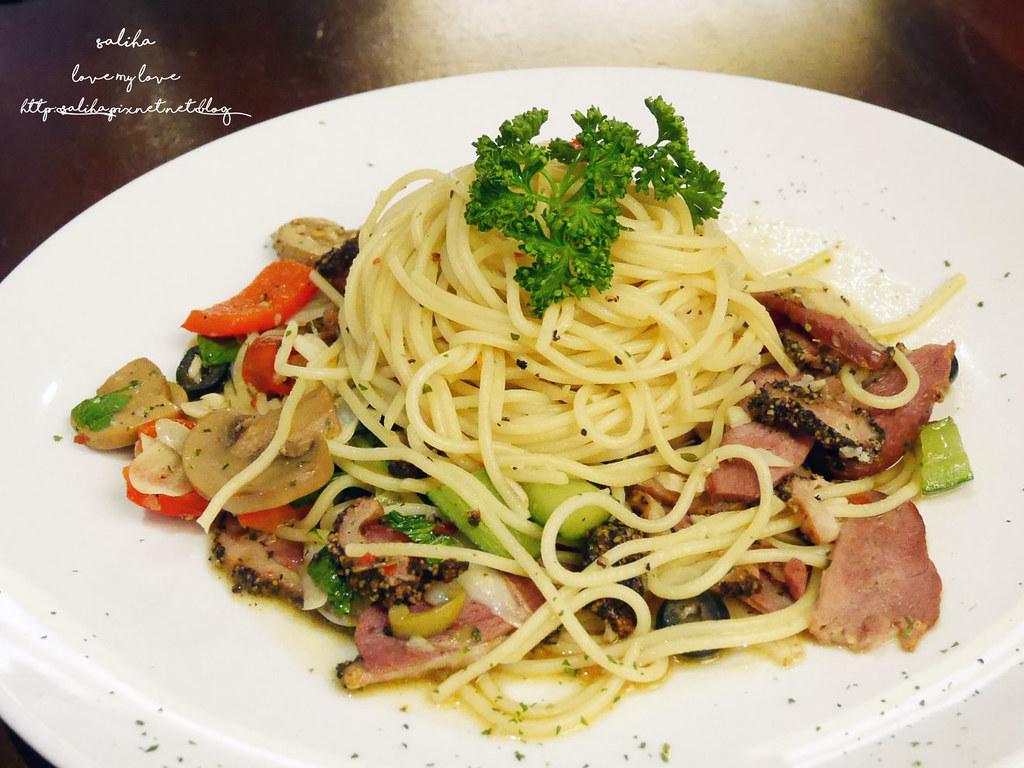 淡水老街海關碼頭附近平價義大利麵餐廳墨尼尼 (14)