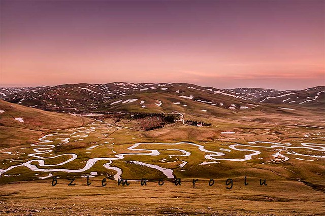 pink hours at the Perşembe Plateau ....