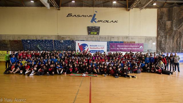 Basauri HandballCup 2019 (por Manu Alvarez)