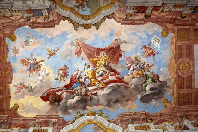 Sala de Mármol del Monasterio de San Florian