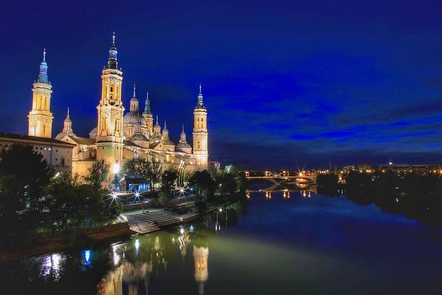 Nuestra Seńora del Pilar. Zaragoza, Spain