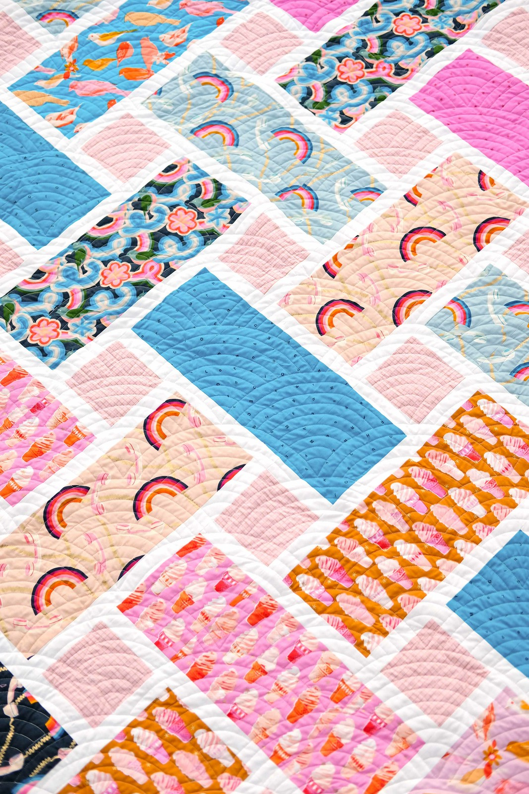 The Tessa Quilt Pattern - Kitchen Table Quilting