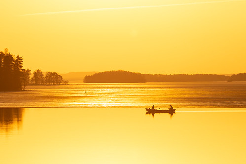 Rowing in the evening | by VisitLakeland