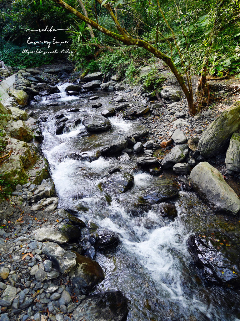 宜蘭礁溪登山踏青爬山林美石磐步道瀑布 (7)