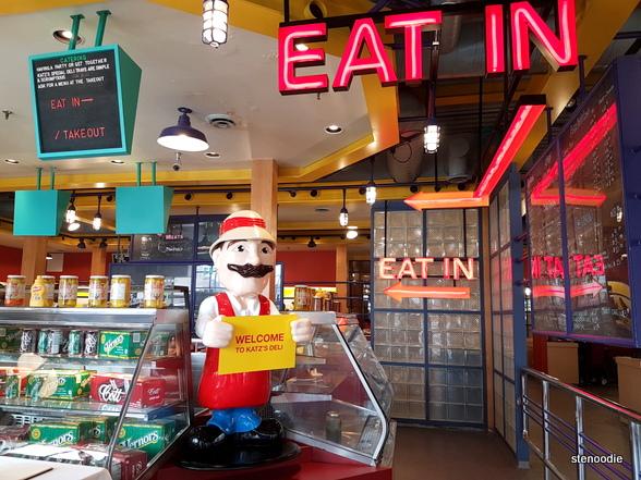 Katz's Deli & Corned Beef Emporium eat in