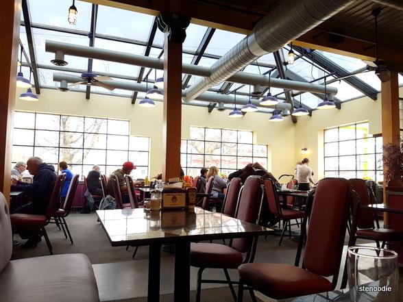 Katz's Deli & Corned Beef Emporium dining rooms