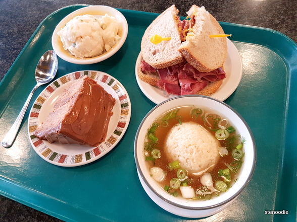 Katz's Deli food