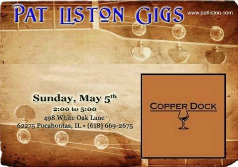 Pat Liston 5-5-19