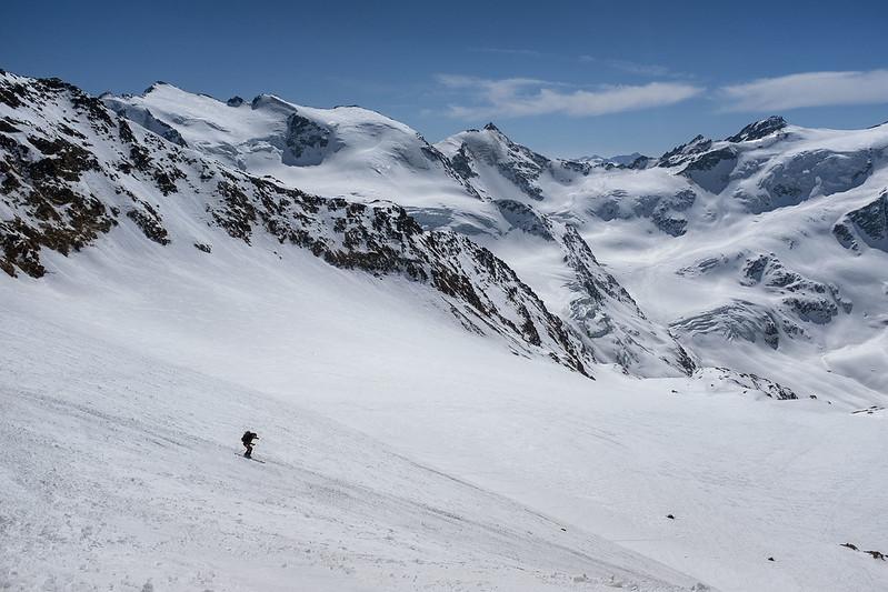 Palon de la Mare: Buona neve nella parte alta