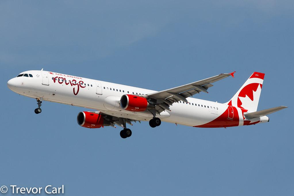Air Canada Rouge | C-FYXF | Airbus A321-211 | YYZ | CYYZ