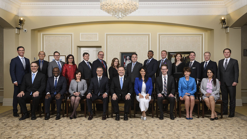 Premier Jason Kenney and Cabinet Swearing-In Ceremony