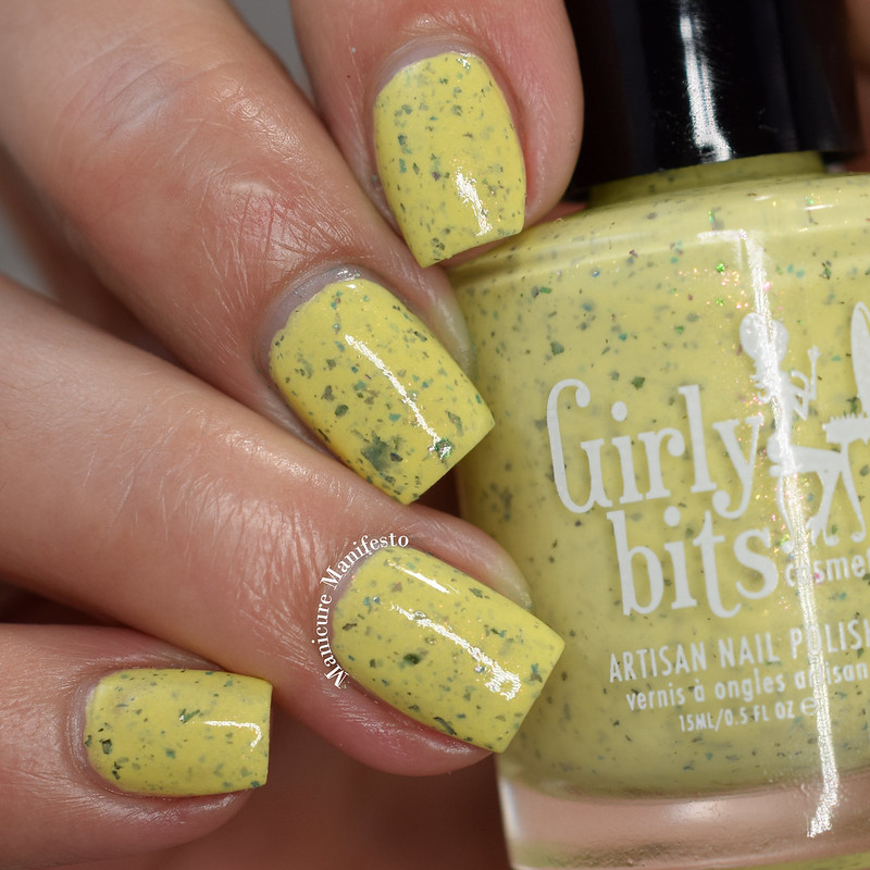 Girly Bits Peep Calm and Polish On
