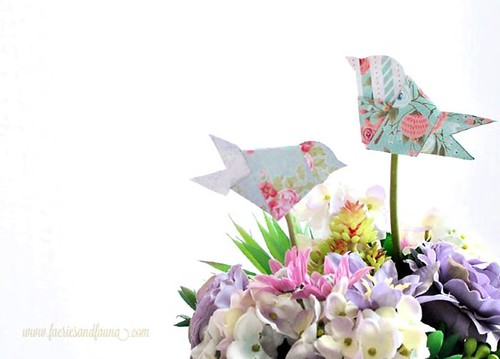 Simple-and-pretty-Paper-Origami-Birds-for-Spring