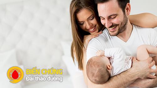 Vợ chồng bị tiểu đường vẫn có thể sinh con và sinh con khỏe mạnh