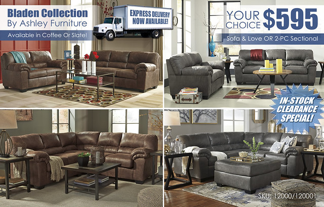 Bladen Your Choice Special_Sectional or Living Set