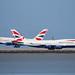 British Airways A380 Landing by photo101