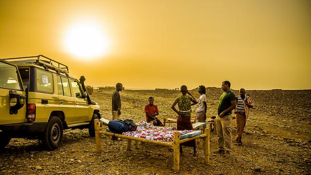 Grand Hotel en el Desierto de Danakil, Ethiopia