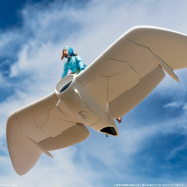 想造畫廊 《風之谷》滑翔翼&娜烏西卡(Full Action Ver.)!!想造ガレリア メーヴェ&ナウシカ〔Full Action Ver.〕