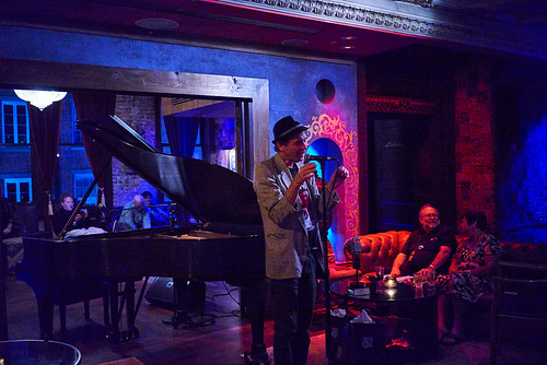 Dean Ellis at Piano Night - April 29, 2019. Photo by Eli Mergel.