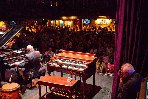 Marc PoKempner photographers Ellis Marsalis at Piano Night - April 29, 2019. Photo by Eli Mergel.