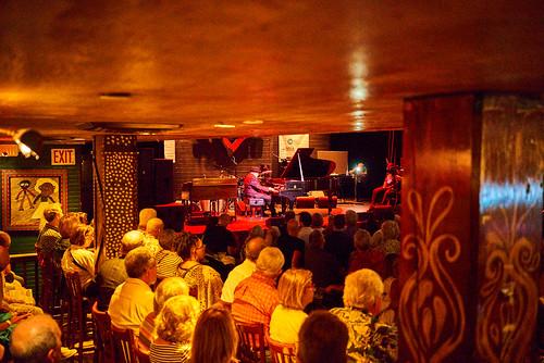 John Papa Gros at Piano Night - April 29, 2019. Photo by Eli Mergel.