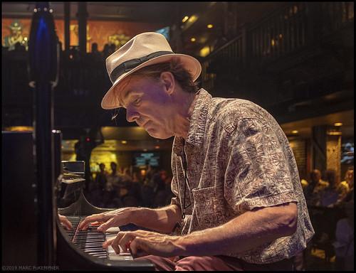 Tom McDermott at Piano Night - April 29, 2019. Photo by Marc PoKempner.