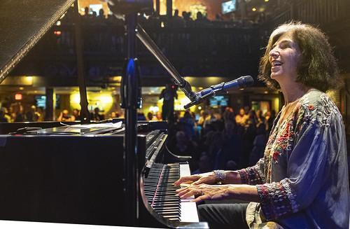 Marcia Ball  at Piano Night - April 29, 2019. Photo by Marc PoKempner.