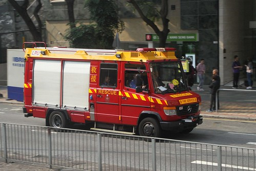 Hong Kong Fire Services Department Light Rescue Unit (LRU)