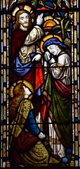 Christ with Martha and Mary at Bethany