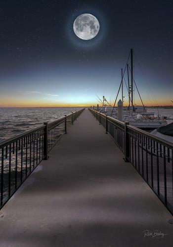 pensacola florida plazadelunapier d300 nikon pier moon explore
