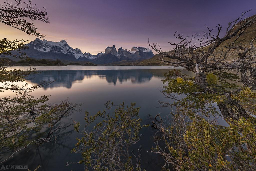 Cuernos reflection - Torres del Paine