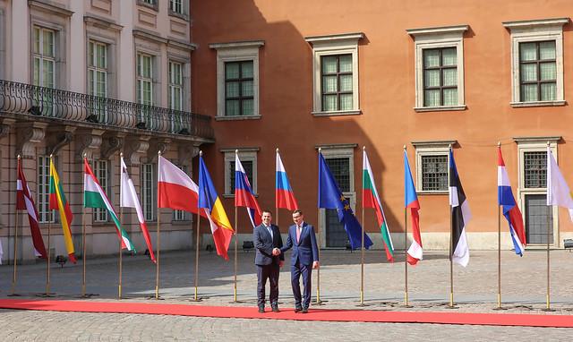 EL liikmesuse 15 aastapäeva tähistamisele Varssavis, 01.05.2019