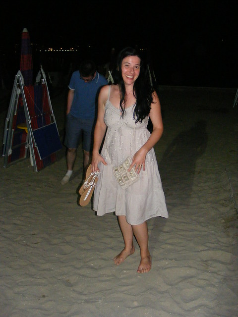 Nina - Bare Foot on the Beach - Portoroz