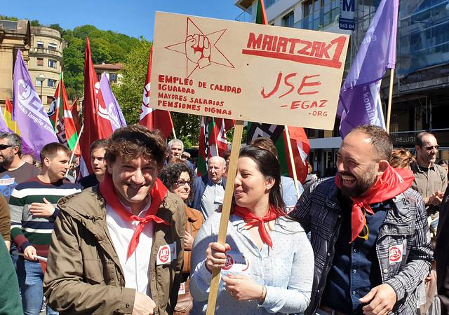 Manifestacion 1 Mayo 2019