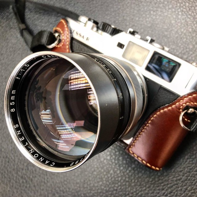 Canon 85mm f1.5 LTM 佳能最強一刀