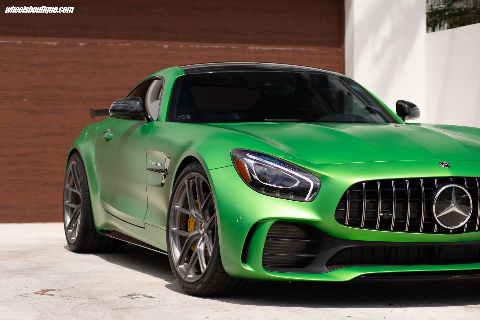 Don't Call It A GT-R    The Monster Green AMG GT R by #TeamWB