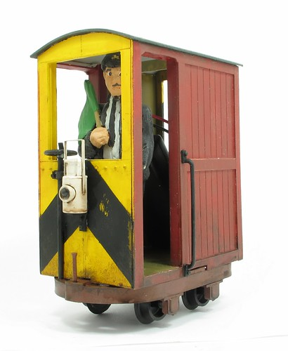 32mm gauge Brake van