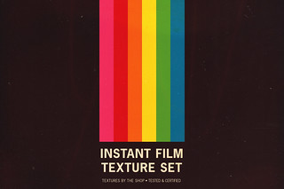The expired instant film texture pack