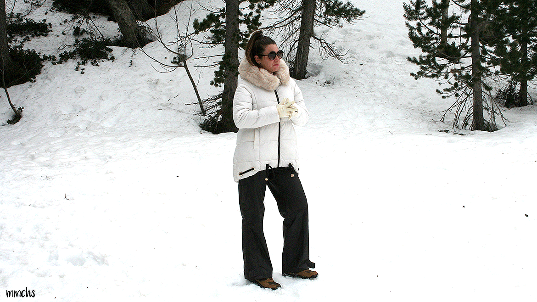 ropa molona de mujer para la nieve