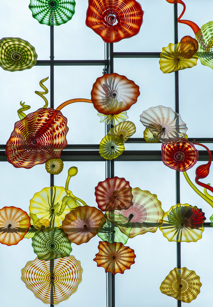 Dale Chihuly Glass Work @ University of Puget Sound