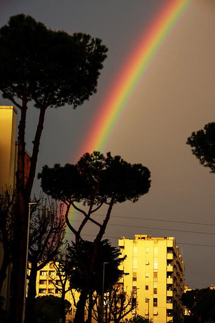 arcobaleno a colli aniene