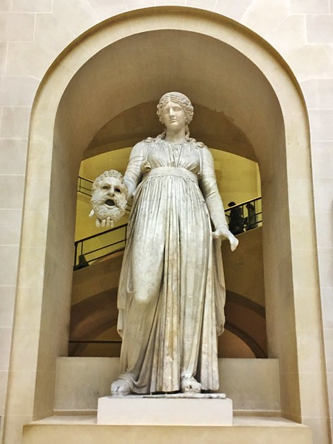 Paris  ~ France ~ Louvre Museum ~  Melpomene was the protector of Tragedy