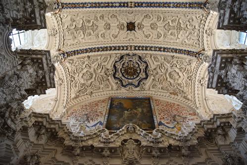 Spanish Baroque Ceiling